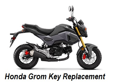 Honda Grom Key Replacement